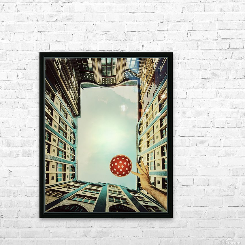 play it! HD Sublimation Metal print with Decorating Float Frame (BOX)