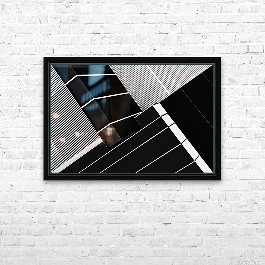 Fragile Symmetry HD Sublimation Metal print with Decorating Float Frame (BOX)