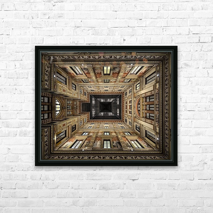 Galleria Sciarra HD Sublimation Metal print with Decorating Float Frame (BOX)