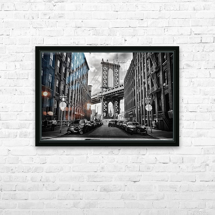 In America HD Sublimation Metal print with Decorating Float Frame (BOX)
