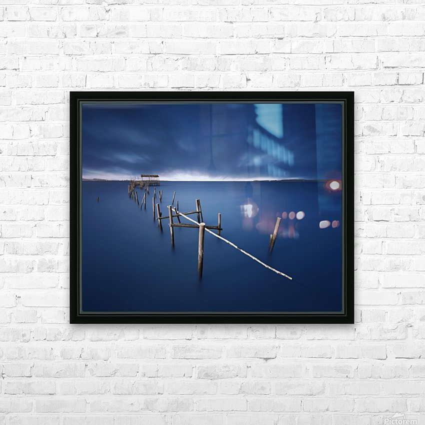 Carrasqueira azul HD Sublimation Metal print with Decorating Float Frame (BOX)