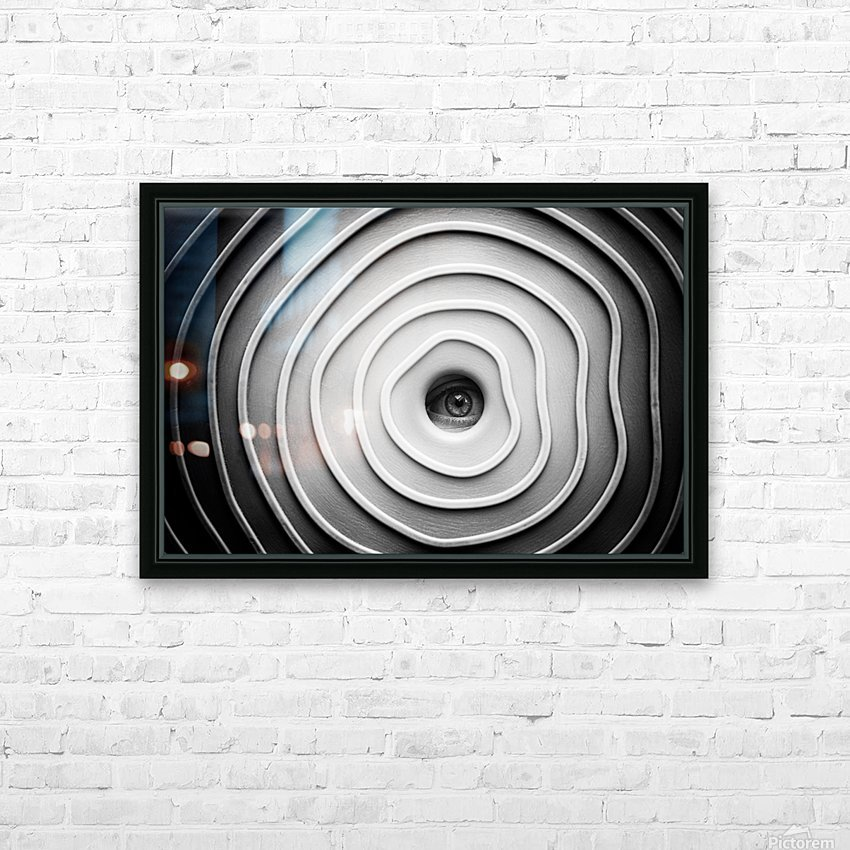 Little Spy HD Sublimation Metal print with Decorating Float Frame (BOX)
