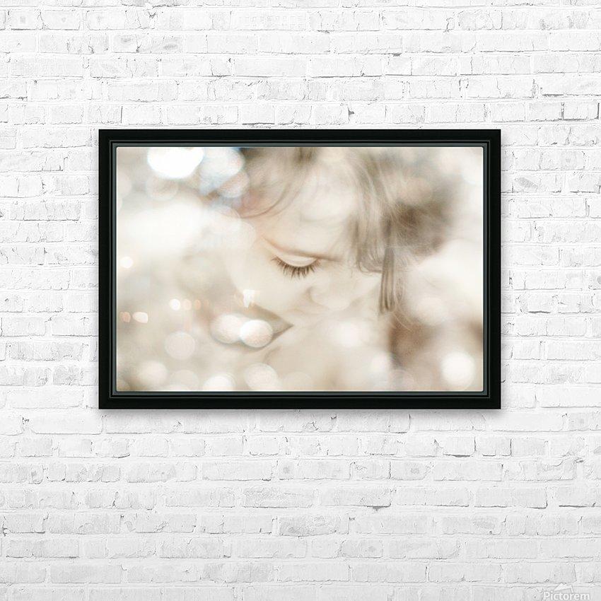 Hi Lite HD Sublimation Metal print with Decorating Float Frame (BOX)