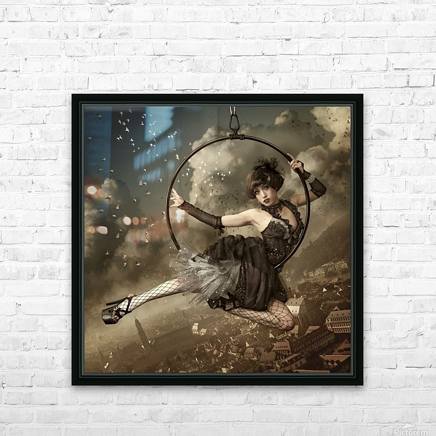 the greatest show in the sky HD Sublimation Metal print with Decorating Float Frame (BOX)