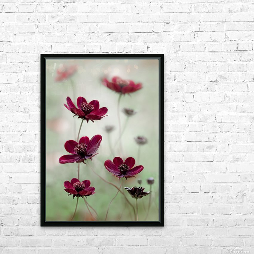 Cosmos sway HD Sublimation Metal print with Decorating Float Frame (BOX)
