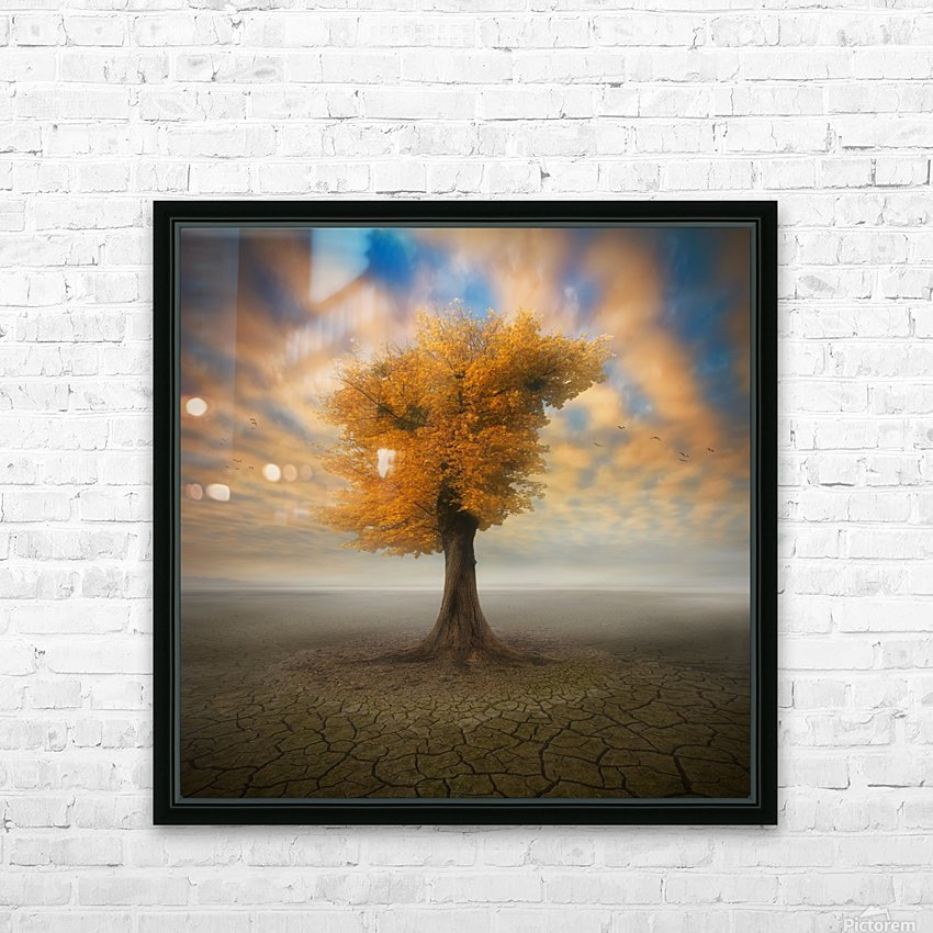 lonesome HD Sublimation Metal print with Decorating Float Frame (BOX)