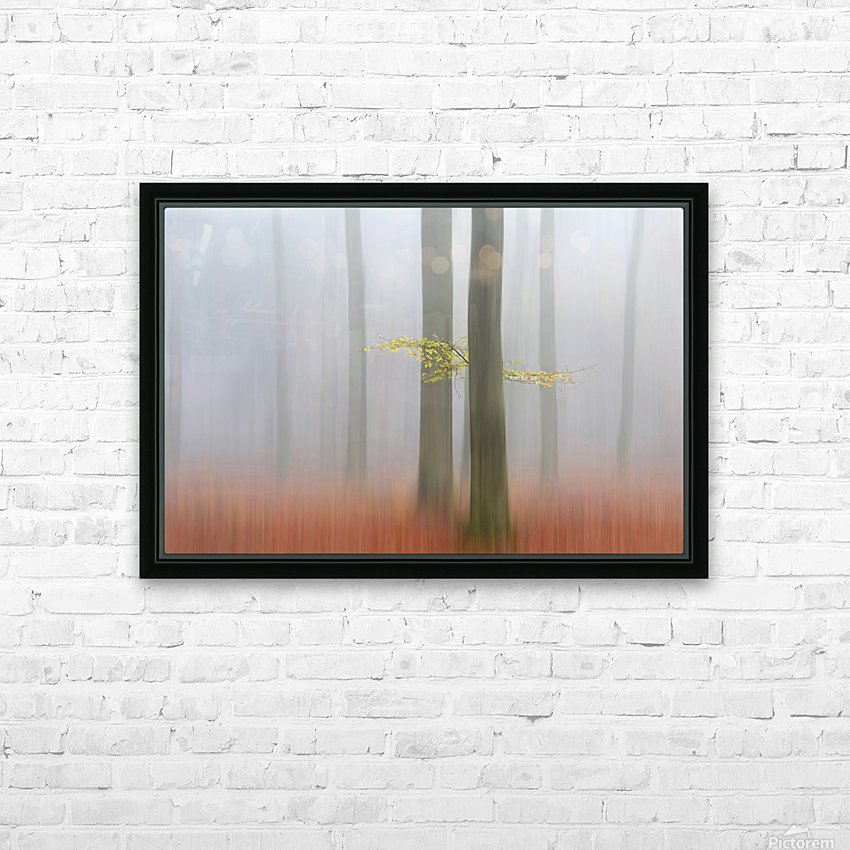 Autumnmorning HD Sublimation Metal print with Decorating Float Frame (BOX)