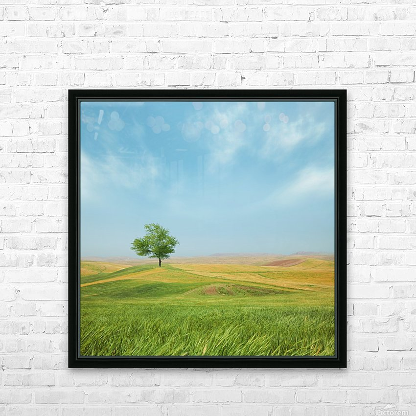 Everything is good HD Sublimation Metal print with Decorating Float Frame (BOX)