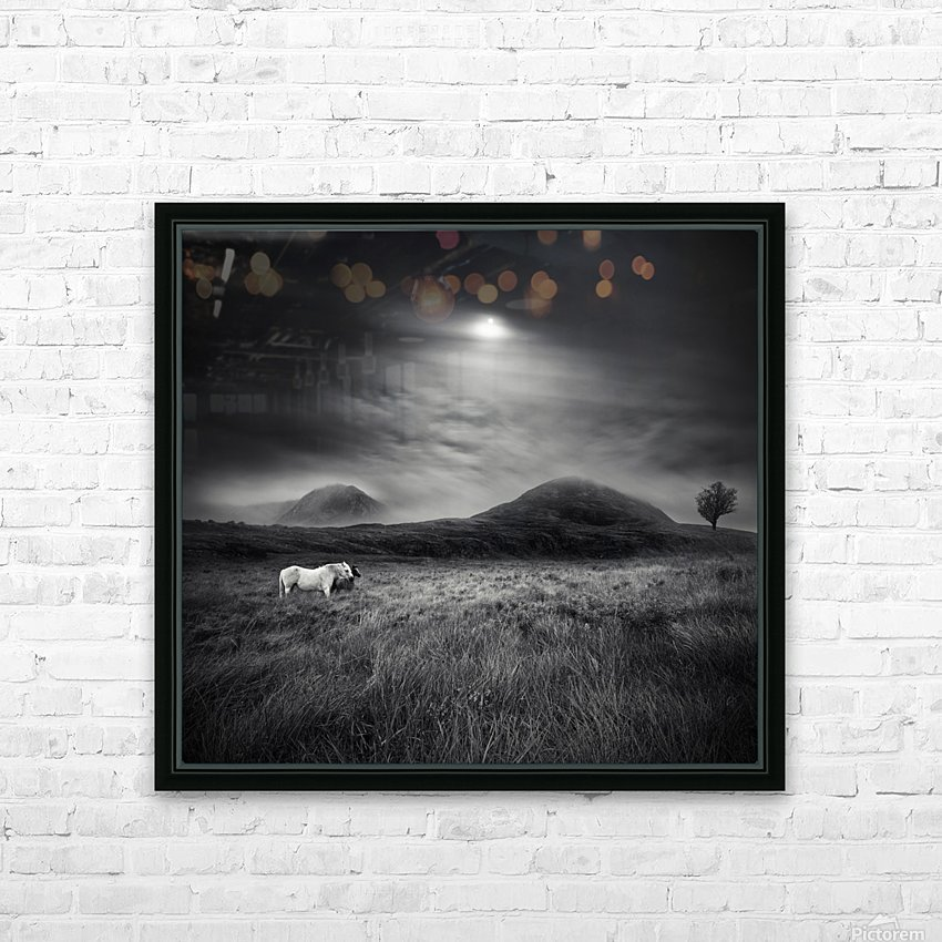 Strange Place To Be HD Sublimation Metal print with Decorating Float Frame (BOX)