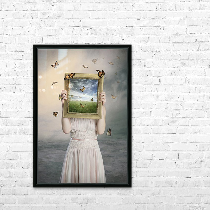 Set them free HD Sublimation Metal print with Decorating Float Frame (BOX)