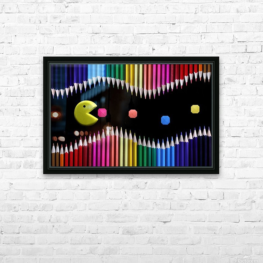 Packman HD Sublimation Metal print with Decorating Float Frame (BOX)