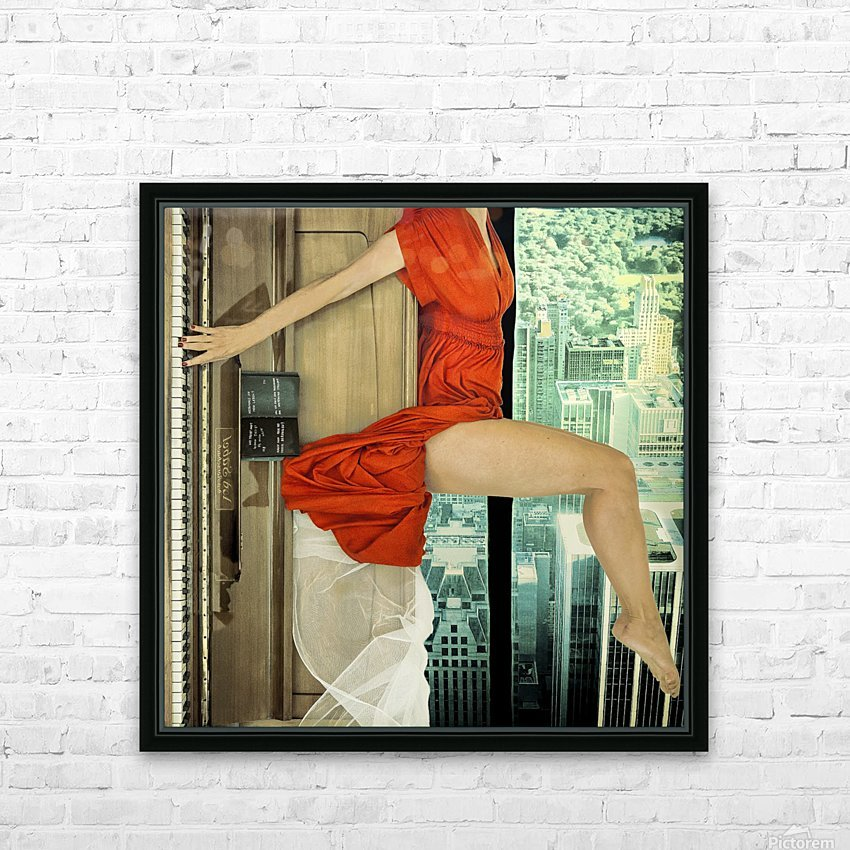 crescendo HD Sublimation Metal print with Decorating Float Frame (BOX)