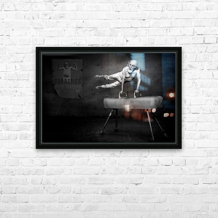 In His Prime HD Sublimation Metal print with Decorating Float Frame (BOX)