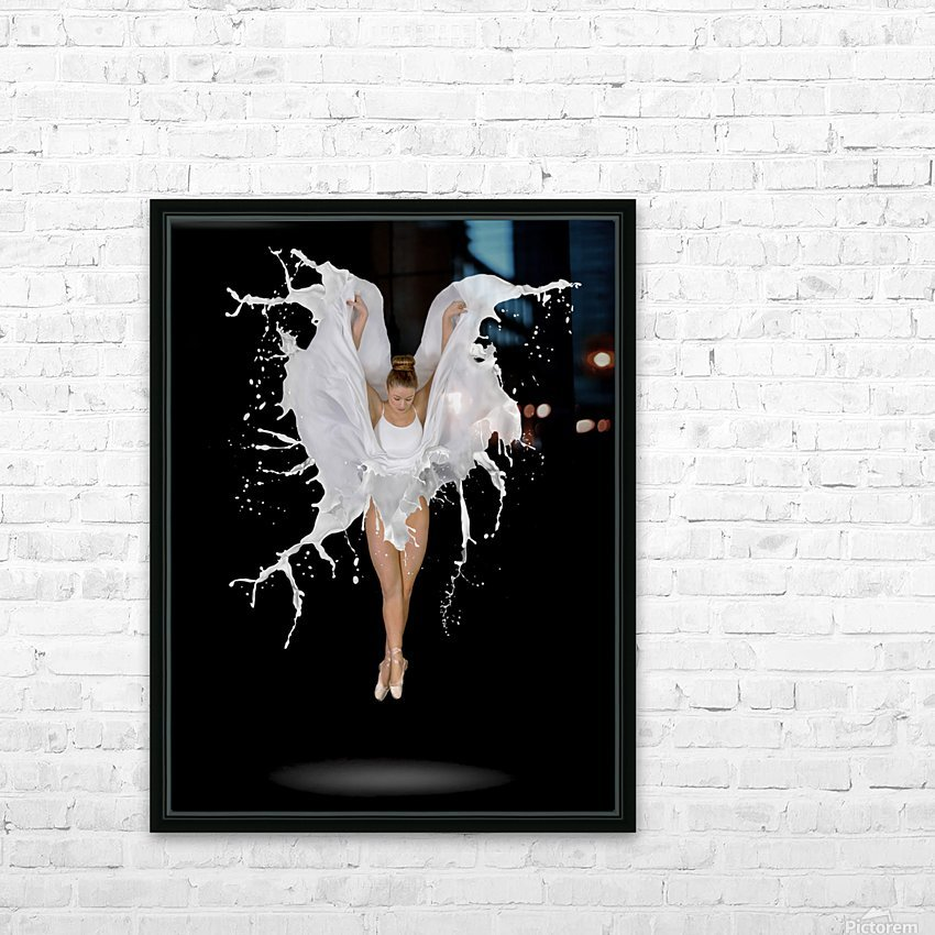 Liquidize HD Sublimation Metal print with Decorating Float Frame (BOX)