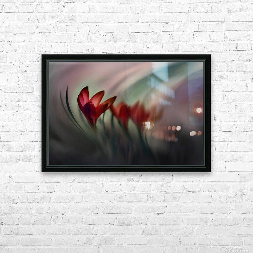 Krokus HD Sublimation Metal print with Decorating Float Frame (BOX)