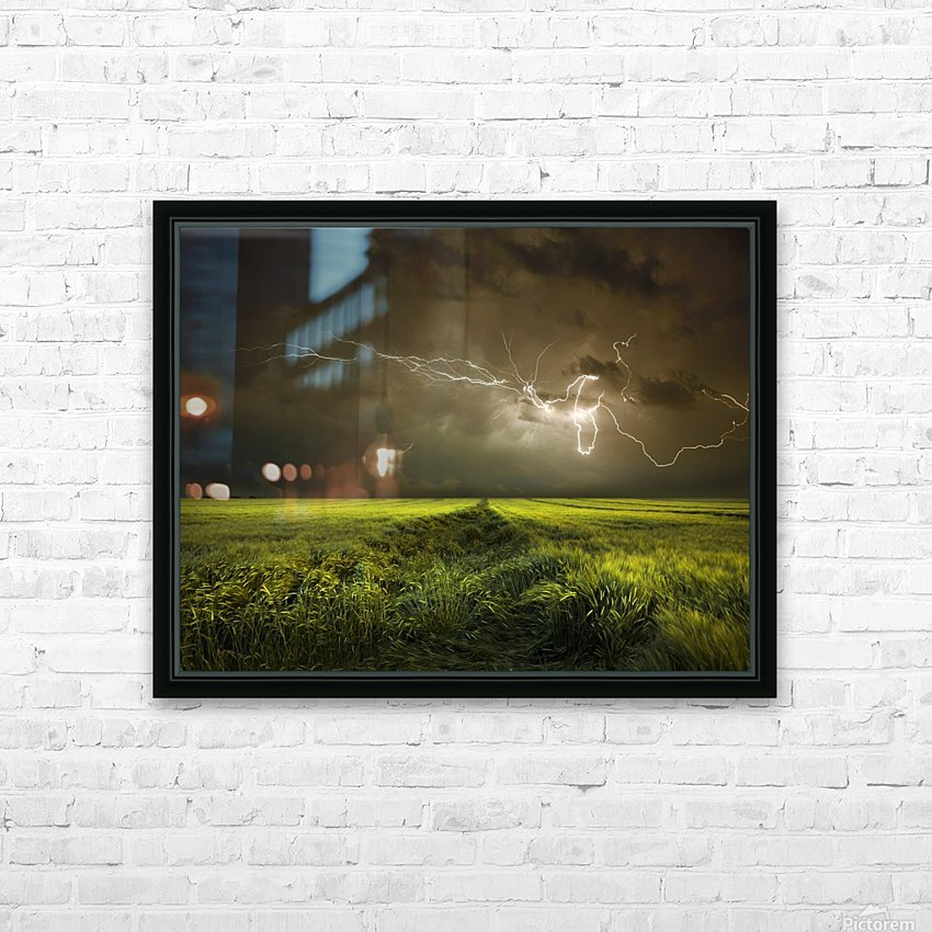 Electrically in Summer HD Sublimation Metal print with Decorating Float Frame (BOX)