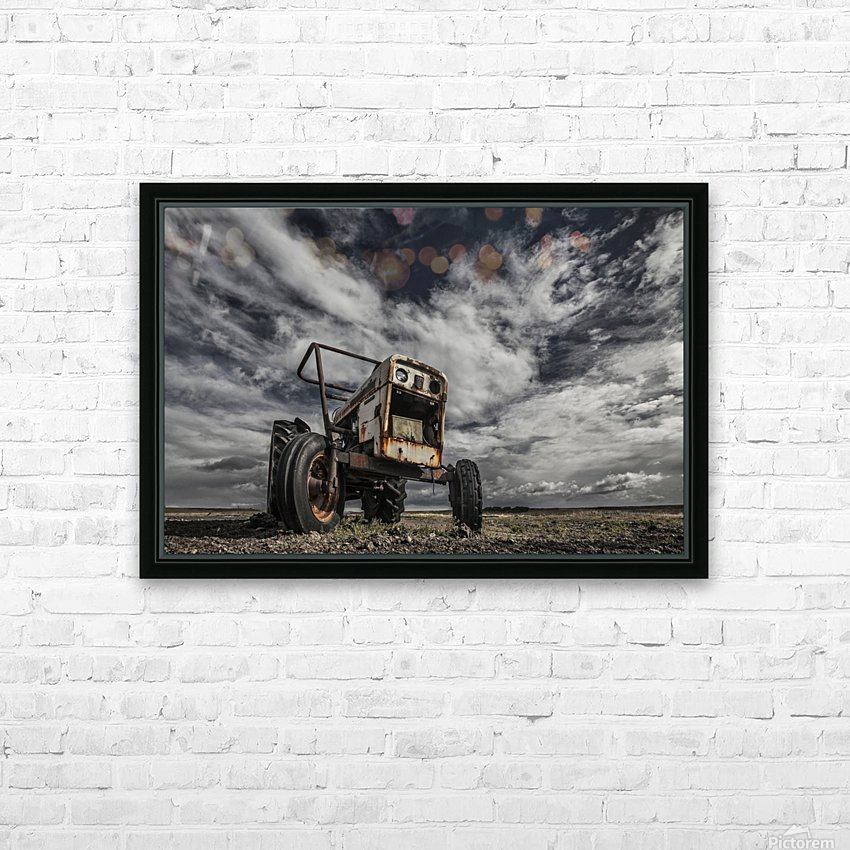 The Scream HD Sublimation Metal print with Decorating Float Frame (BOX)