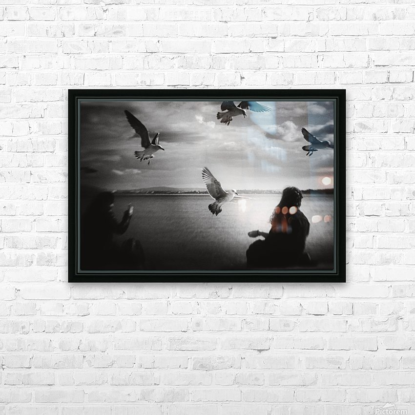 Soul Call HD Sublimation Metal print with Decorating Float Frame (BOX)