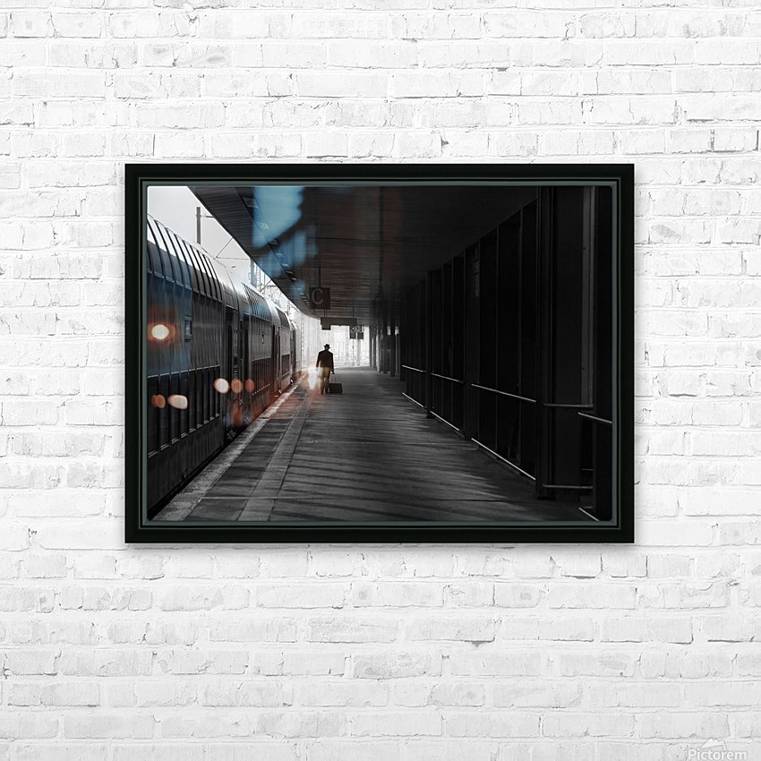 passenger HD Sublimation Metal print with Decorating Float Frame (BOX)