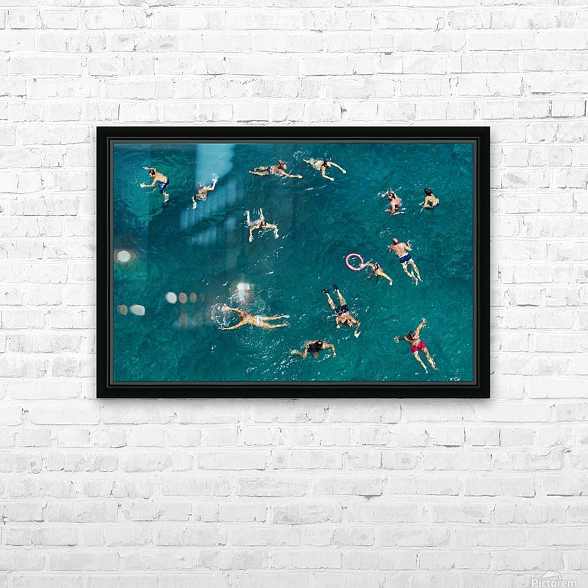 @@ HD Sublimation Metal print with Decorating Float Frame (BOX)