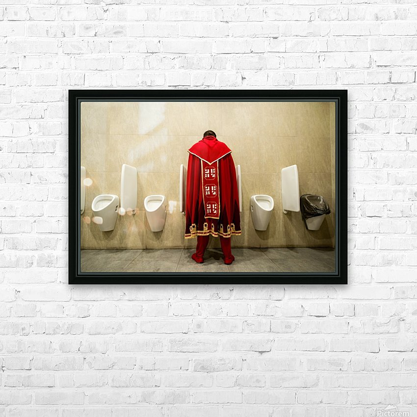 It's Good To Be King! HD Sublimation Metal print with Decorating Float Frame (BOX)