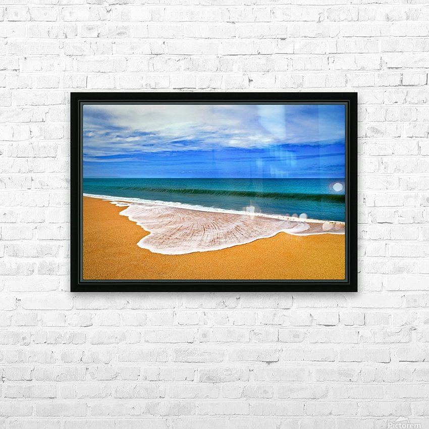 Room for Thoughts HD Sublimation Metal print with Decorating Float Frame (BOX)
