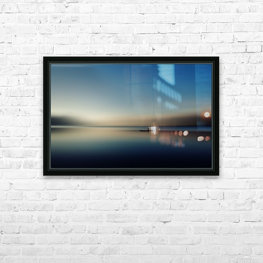 alone in somewhere HD Sublimation Metal print with Decorating Float Frame (BOX)