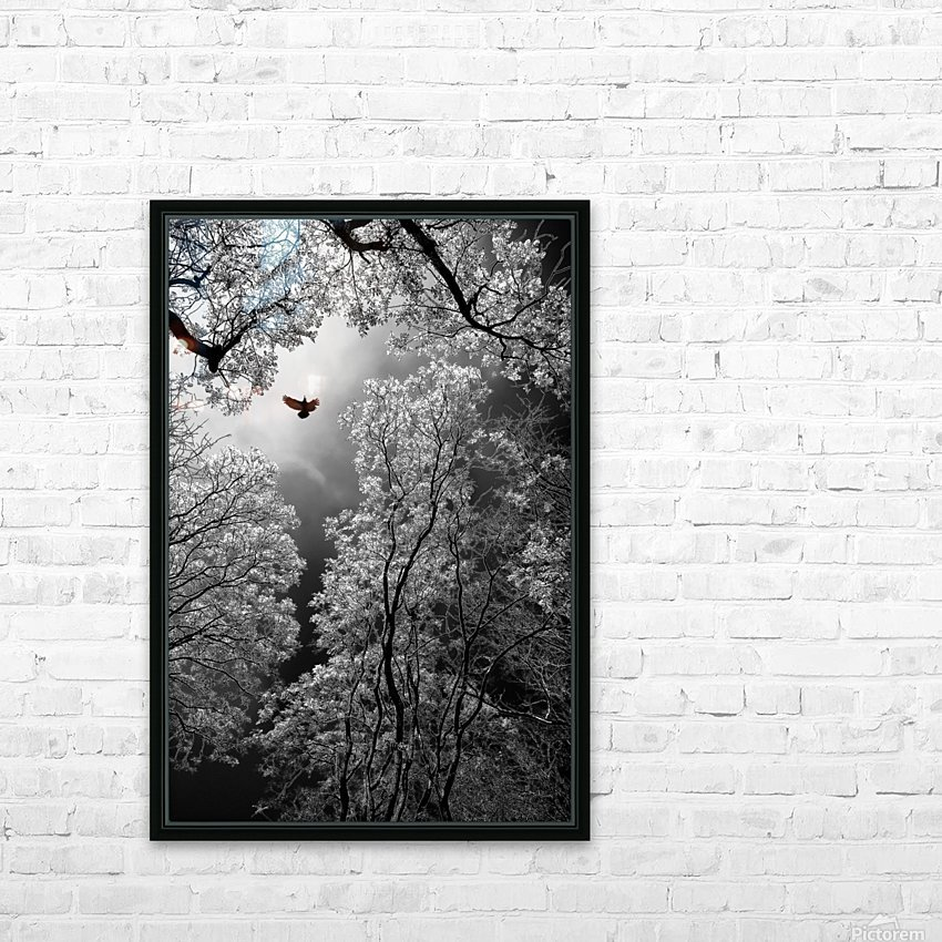 Flight HD Sublimation Metal print with Decorating Float Frame (BOX)