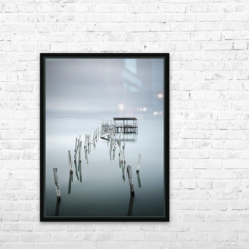 Under Destruction HD Sublimation Metal print with Decorating Float Frame (BOX)