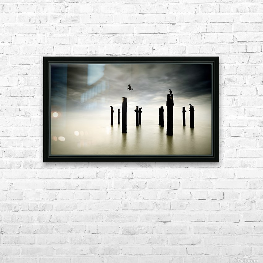 The Sentinels HD Sublimation Metal print with Decorating Float Frame (BOX)