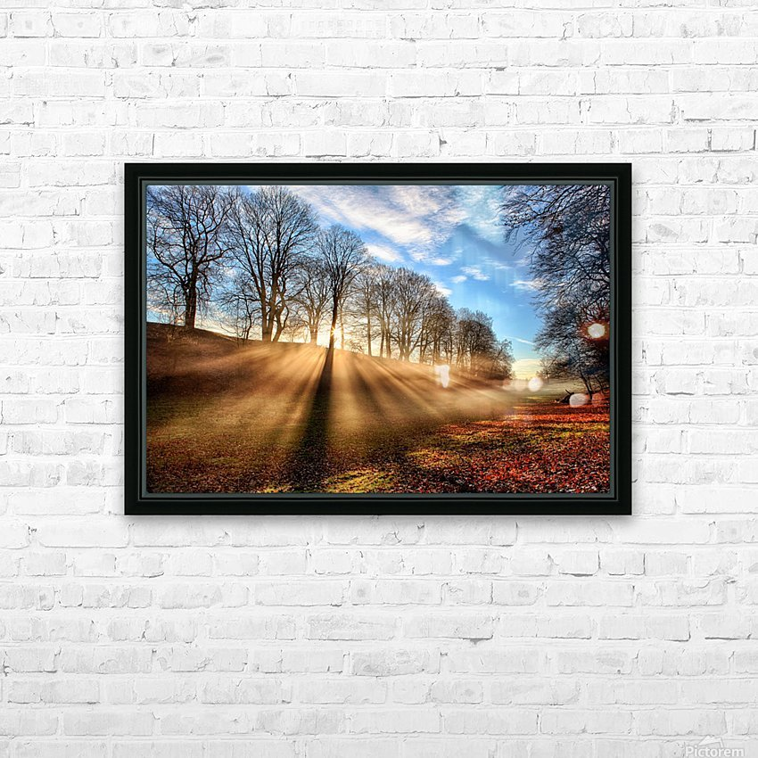 Mill of Shadows HD Sublimation Metal print with Decorating Float Frame (BOX)