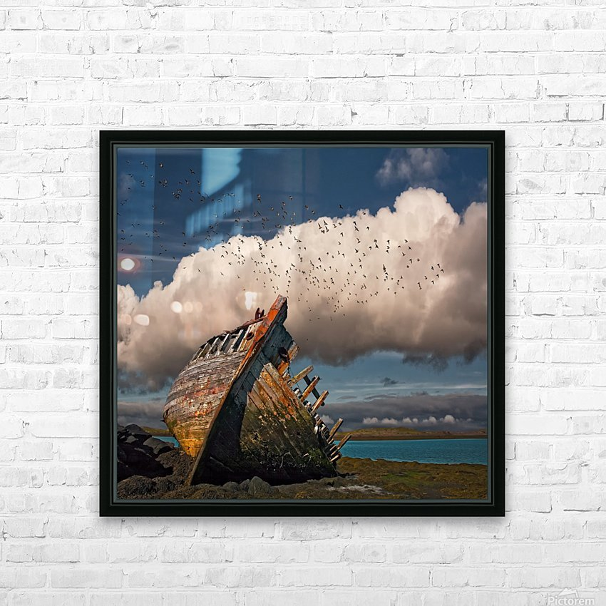 Placid HD Sublimation Metal print with Decorating Float Frame (BOX)