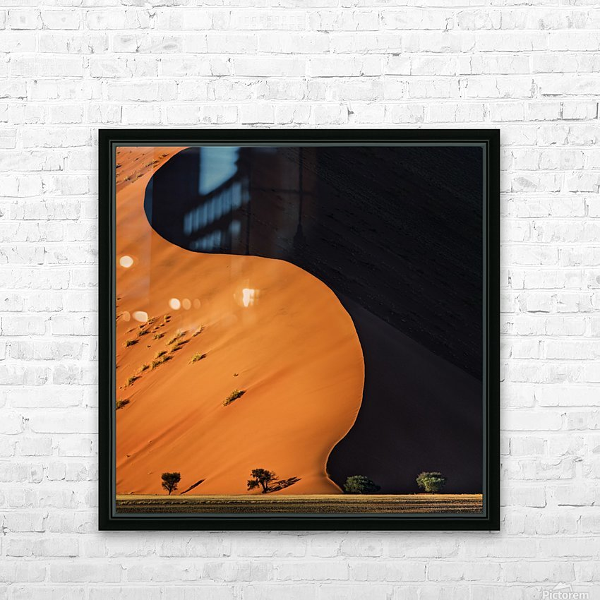 light and shadow HD Sublimation Metal print with Decorating Float Frame (BOX)