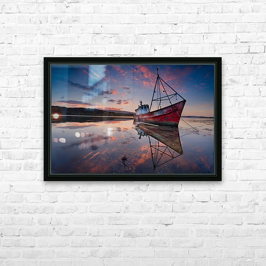 The Sabrina HD Sublimation Metal print with Decorating Float Frame (BOX)