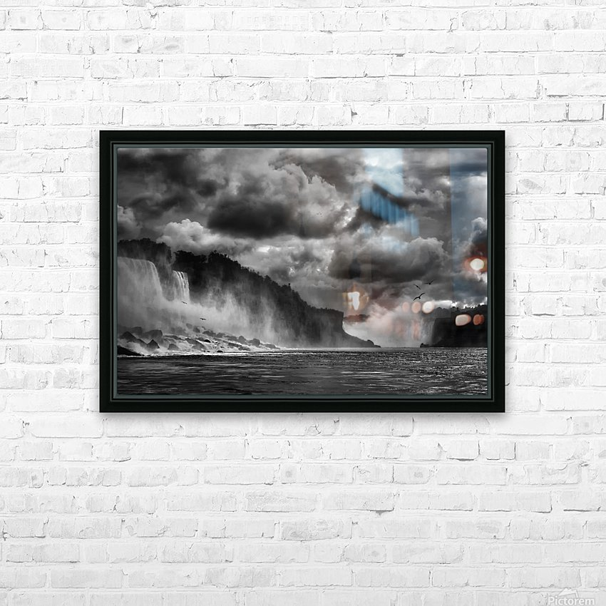 Maid of the Mist HD Sublimation Metal print with Decorating Float Frame (BOX)
