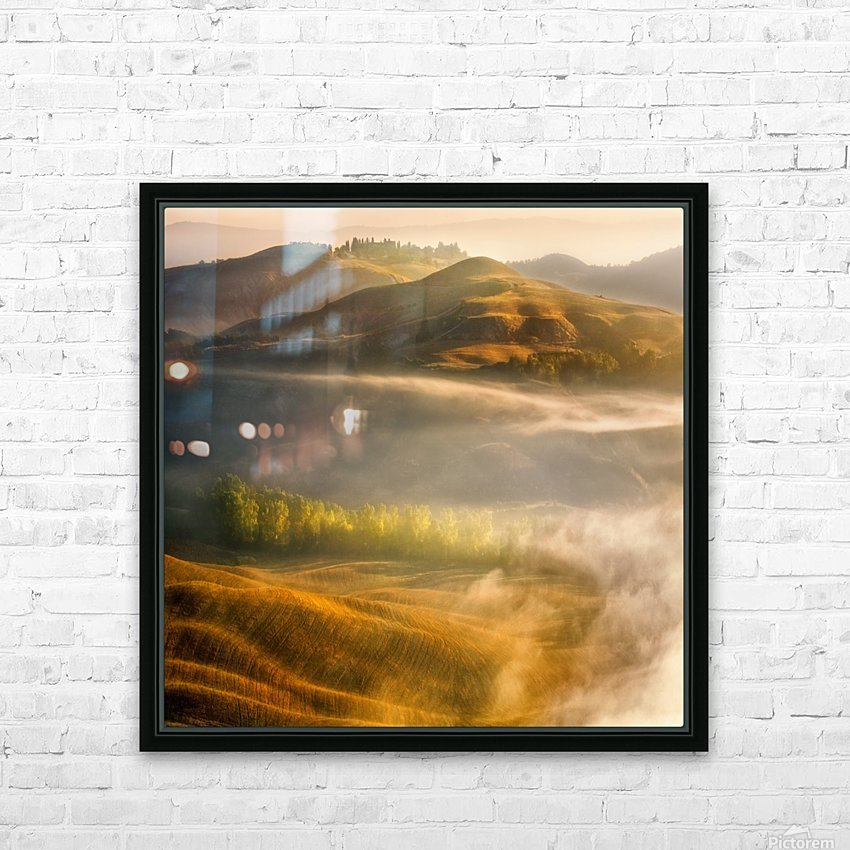 Mists... HD Sublimation Metal print with Decorating Float Frame (BOX)