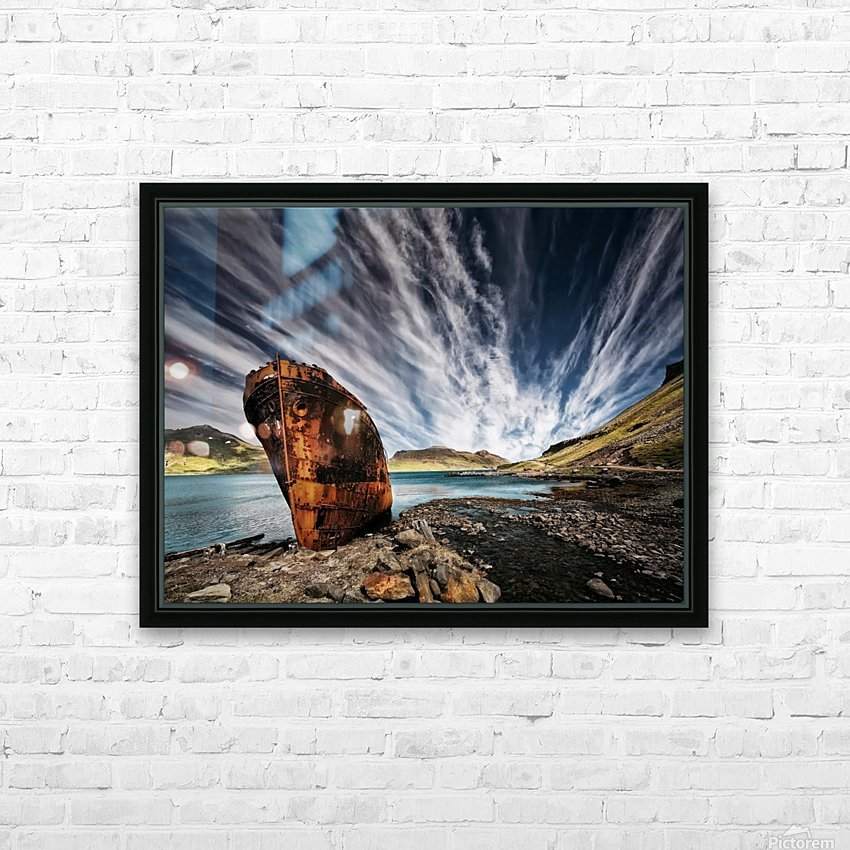 Chosen Place HD Sublimation Metal print with Decorating Float Frame (BOX)