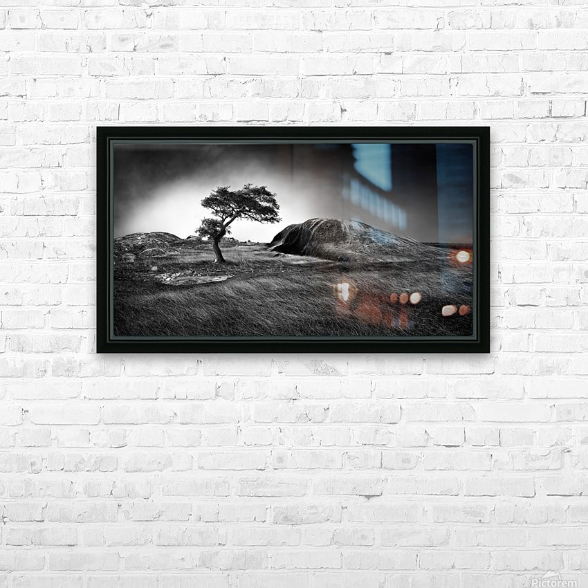 Winter is coming HD Sublimation Metal print with Decorating Float Frame (BOX)