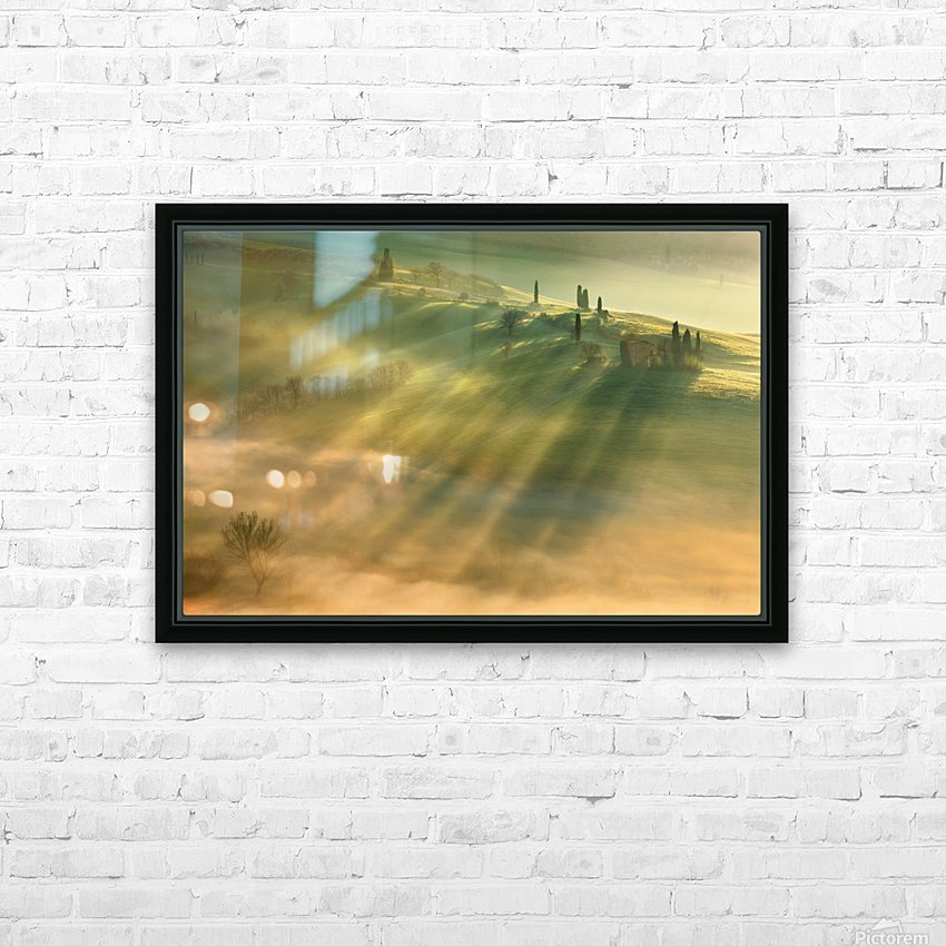 Mist... HD Sublimation Metal print with Decorating Float Frame (BOX)