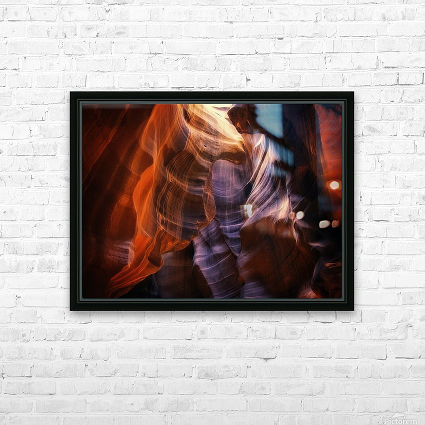 Light Up Above HD Sublimation Metal print with Decorating Float Frame (BOX)