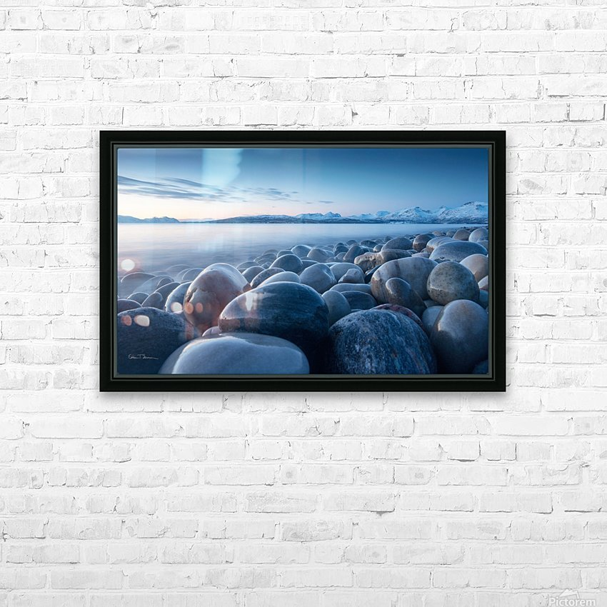 An ocean of time HD Sublimation Metal print with Decorating Float Frame (BOX)