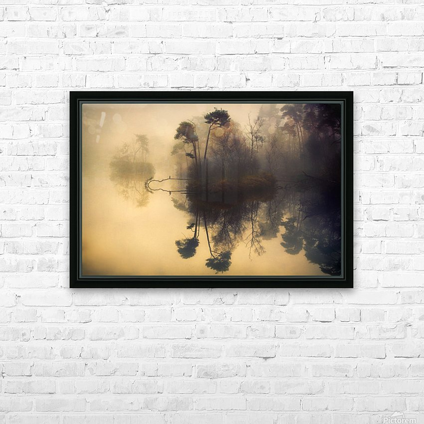 My place HD Sublimation Metal print with Decorating Float Frame (BOX)