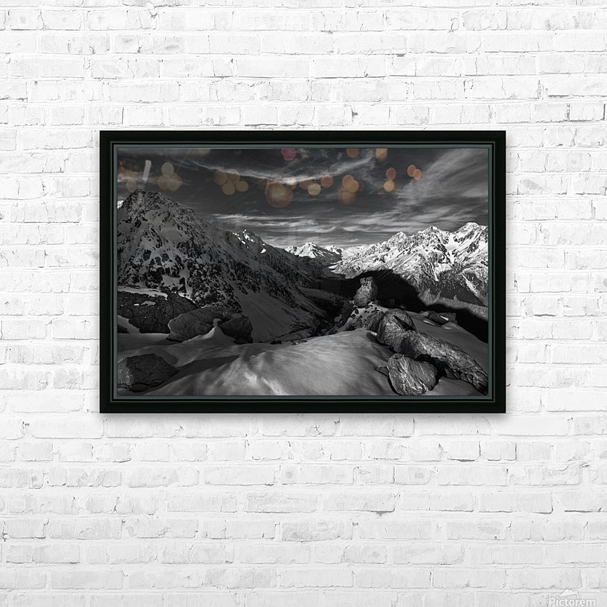 Spectrum of Light HD Sublimation Metal print with Decorating Float Frame (BOX)
