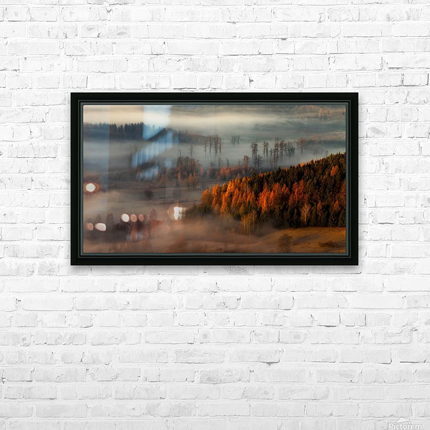 At the gates of the valley. HD Sublimation Metal print with Decorating Float Frame (BOX)