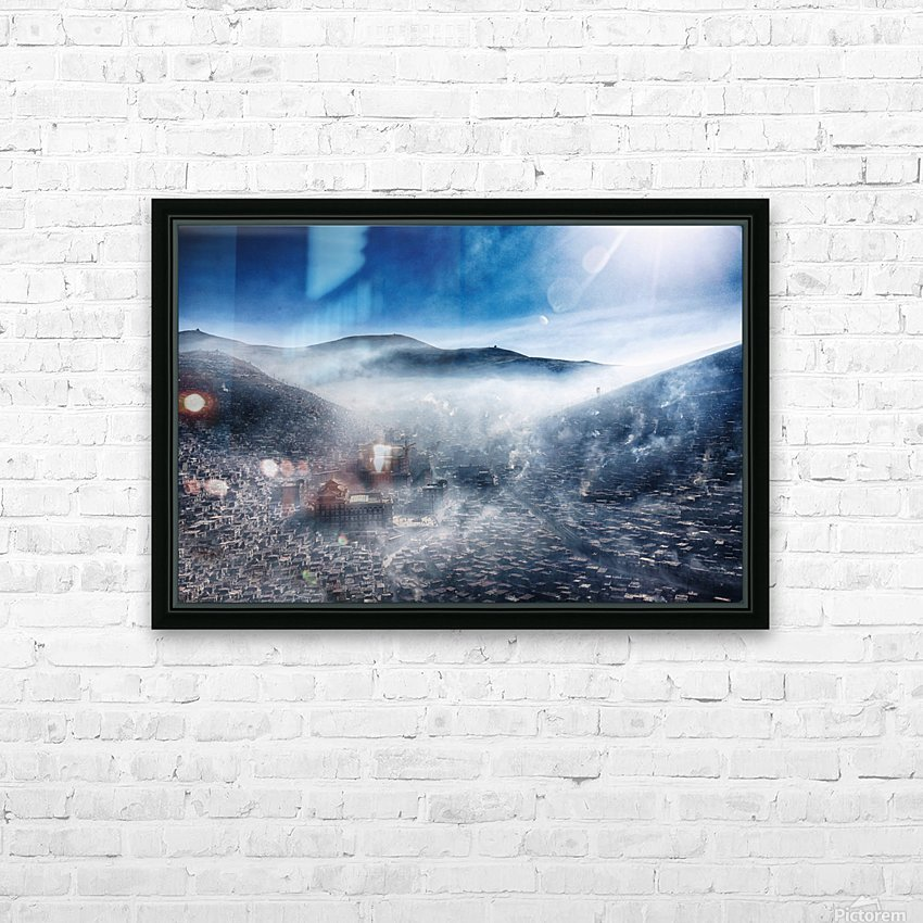 Good morning, Loose HD Sublimation Metal print with Decorating Float Frame (BOX)