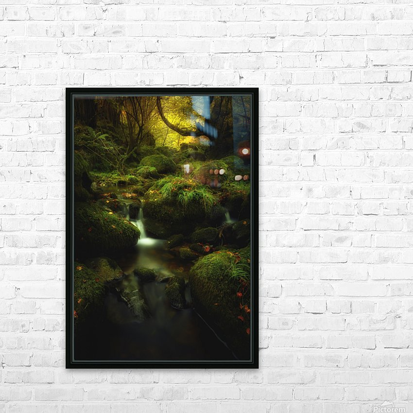 Land of Xanes HD Sublimation Metal print with Decorating Float Frame (BOX)