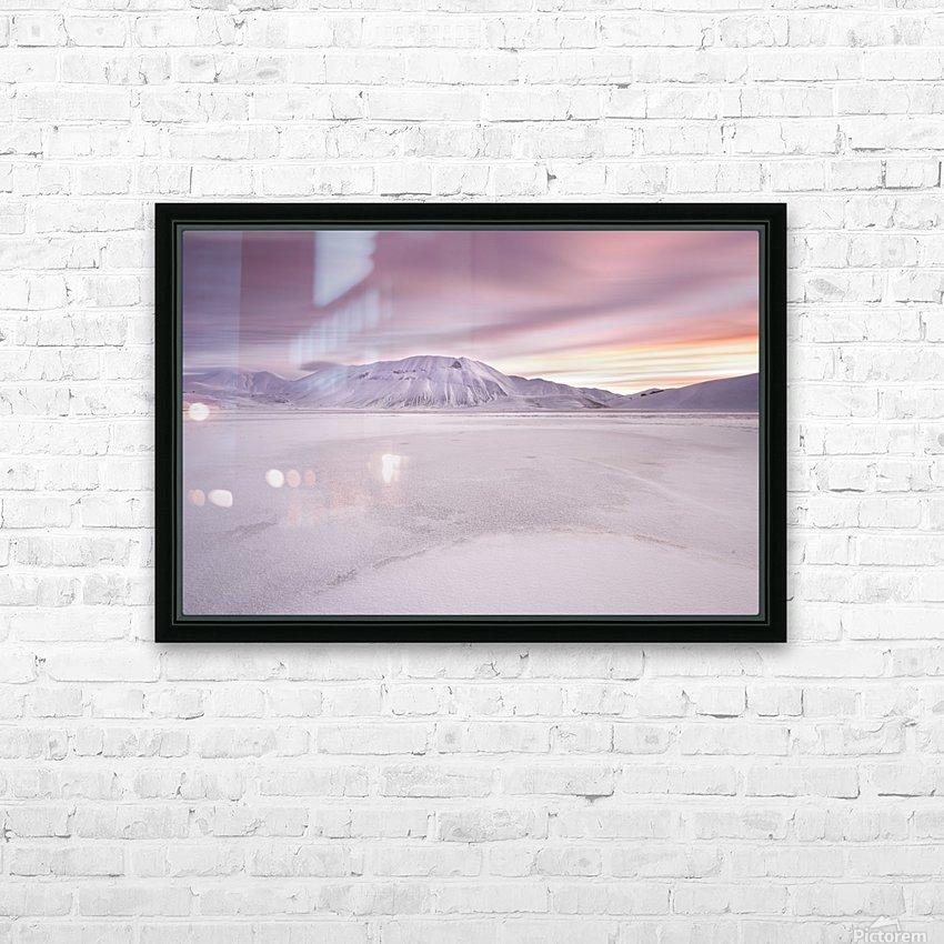 Sibillini National Park - Sunrise HD Sublimation Metal print with Decorating Float Frame (BOX)