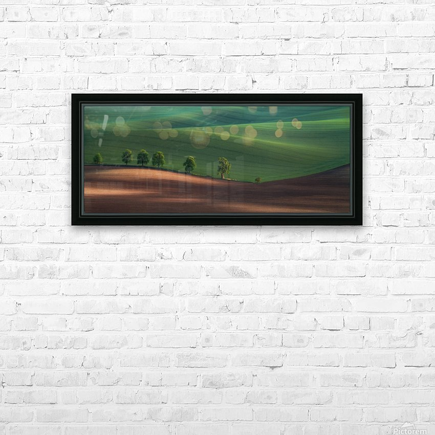 Alley HD Sublimation Metal print with Decorating Float Frame (BOX)