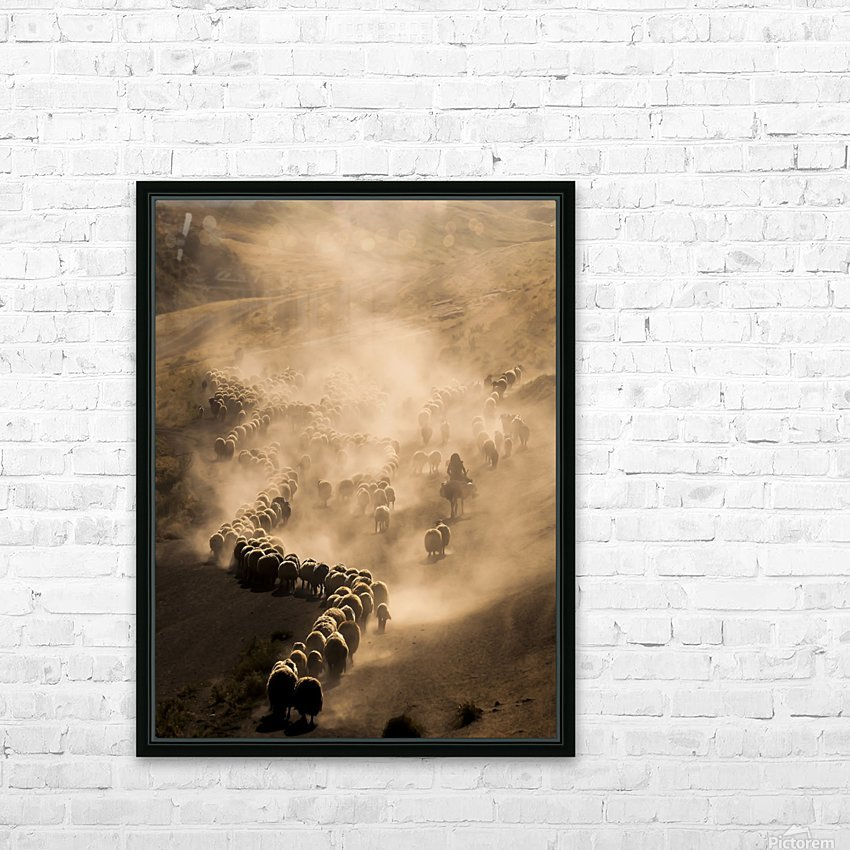Tozlu Yolculuk HD Sublimation Metal print with Decorating Float Frame (BOX)