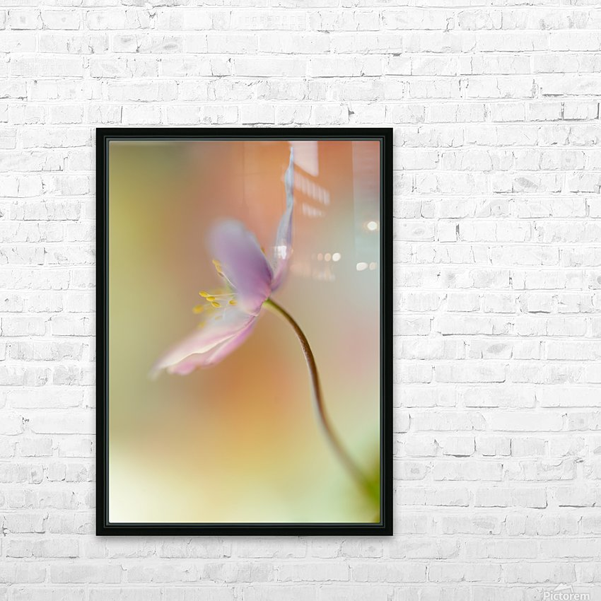 Tender spring HD Sublimation Metal print with Decorating Float Frame (BOX)